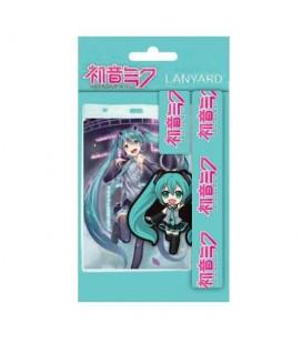Dragonne avec Porte-clés Hatsune Miku