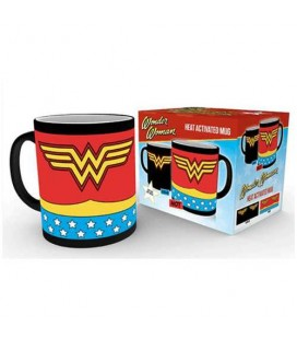 Mug Wonder Woman Costume Thermoréactif