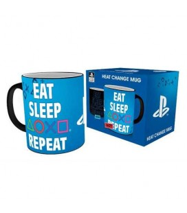 Mug Eat Sleep Repeat Thermoréactif