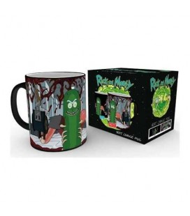 Mug Pickle Rick Thermoréactif