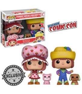 Pop! Strawberry Shortcake & Huckleberry Pie (Figurines parfumées) NYCC 2016 [2-Pack]