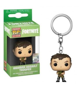 Pocket Pop! Keychain - Highrise Assault Trooper