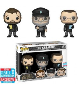 Pop! The Creators NYCC 2018 [3-Pack]