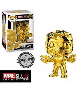 Pop! Star-Lord chromée Limited Edition MS 10TH [353]