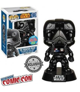 Pop! Tie Fighter Pilot (Chrome Metallic) Limited Edition [51]