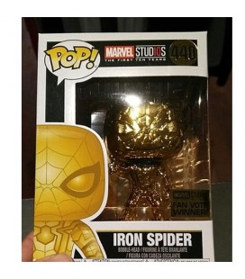 Pop! Iron Spider chromée MS 10TH [440]