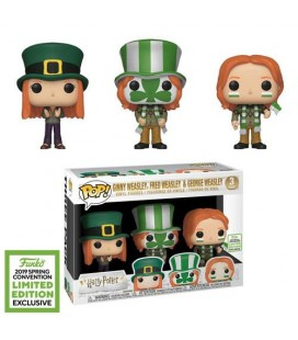 Pop! Ginny, Fred & Ron Weasley ECCC 2019 [3-Pack]