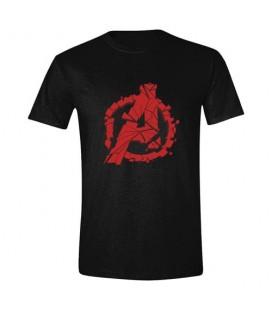 T-Shirt Avengers EndGame Shattered Logo