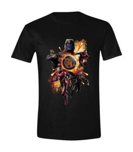 T-Shirt Avengers EndGame Thanos & Avengers