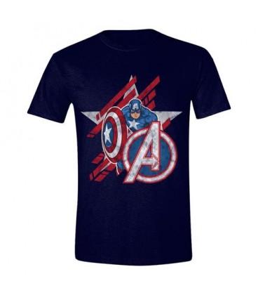 T-Shirt Avengers EndGame Captain America Star
