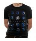 T-Shirt Avengers EndGame Heads