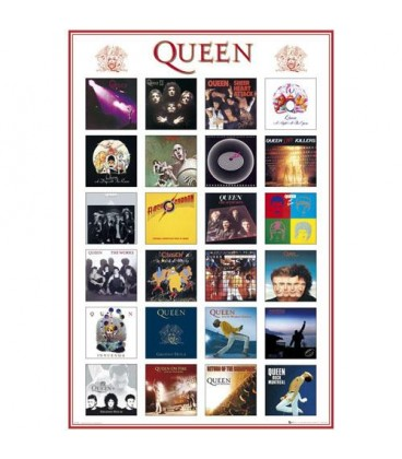 Poster Queen Covers 61*91