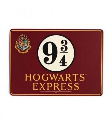 Plaque Hogwarts Express Platform 9 3/4