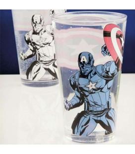 Verre Captain America Thermoréactif