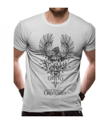 T-shirt Phoenix Crimes Of Grindelwald