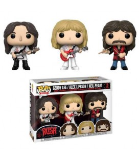 Pop! Geddy Lee, Alex Lifeson & Neil Peart [3-Pack]