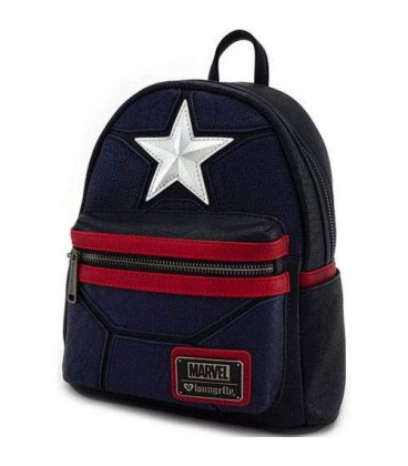 Sac à dos Loungefly Captain America Cosplay