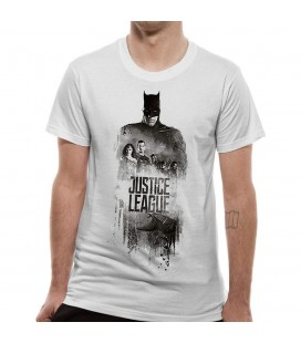 T-shirt Justice League Movie Batman Silhouette