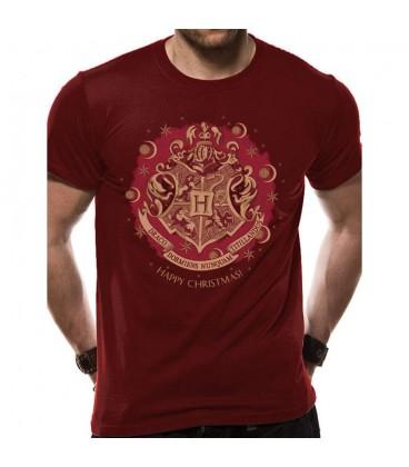 T-shirt Hogwarts Happy Christmas