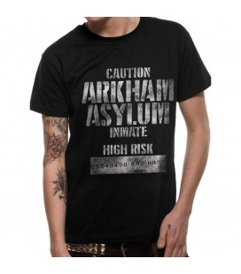 T-shirt Batman Arkham Asylum Inmate
