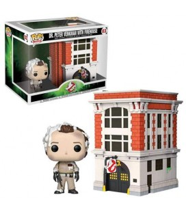 Pop! Town Dr. Peter Venkman with Firehouse [03]