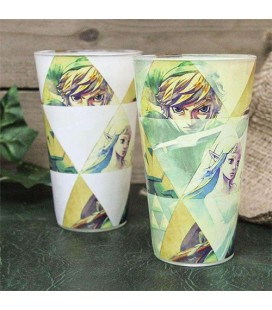 Verre Hyrule Thermoréactif - The Legend of Zelda