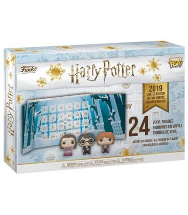 Pocket Pop! Calendrier de l'Avent Harry Potter 2019 [24 Figurines)