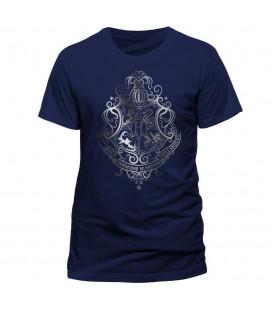 T-shirt Silver Foil Crest