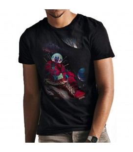 T-shirt Deadpool In Space