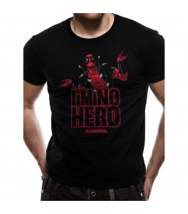 T-shirt Deadpool Im No Hero