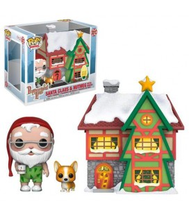 Pop! Town Santa Claus & Nutmeg with House - Christmas Village [01]