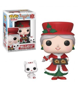 Pop! Mrs. Claus & Candy Cane - Christmas Village [02]