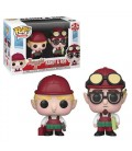 Pop! Randy & Bob - Christmas Village [2-Pack]