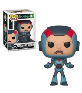 Pop! Purge Suit Morty [567]