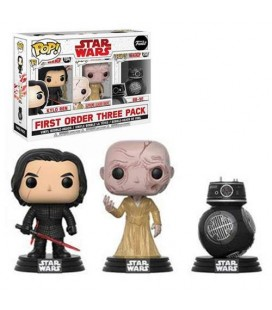 Pop! First order Three Pack Bad Guys [3-Pack]