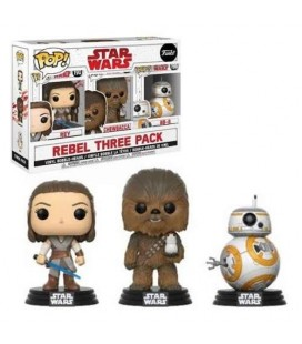 Pop! Rebel Three Pack Good Guys [3-Pack]