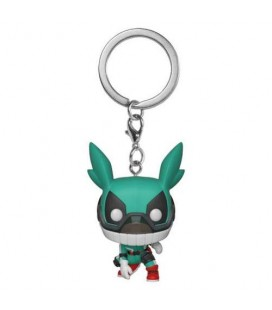Pocket Pop! Keychain - Deku (with helmet)