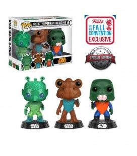 Pop! Greedo, Hammerhead, Walrus Man NYCC 2017 Exclusive [3-Pack]