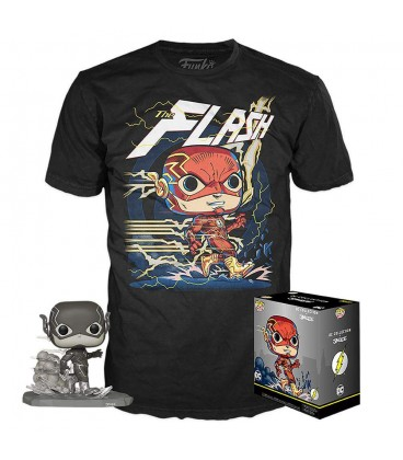Pop! & TShirt Set - The Flash