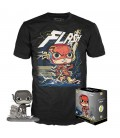Pop! The Flash (Exclusive Jim Lee Deluxe BW) & T-Shirt