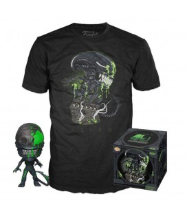 Pop! Xenomorph (Exclusive Bloody) & T-Shirt