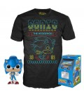 Pop! Sonic (Exclusive Metallic) & T-Shirt