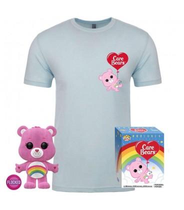Pop! Cheer Bear (Exclusive Flocked) & T-Shirt