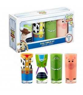 Pack de 4 Verres Funko Toy Story 4