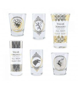 Coffret 6 Verres Shooters Premium Black & Gold