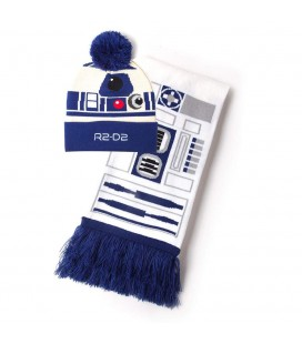 Set Bonnet & Echarpe R2-D2