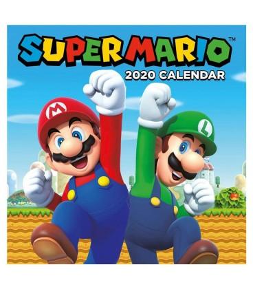 Calendrier De Lavent Pokemon 2020.Super Mario Calendrier 2020