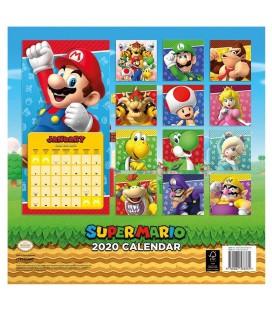 Super Mario Calendrier 2020