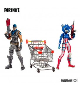 Figurines Shopping Cart Pack War Paint & Fireworks Team Leader - McFarlane