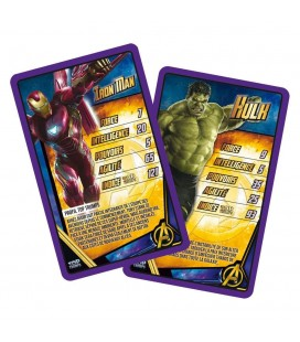 Avengers Infinity War Jeu de Cartes Top Trumps